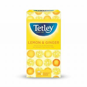 Tetley Herbal Tea - Lemon & Ginger
